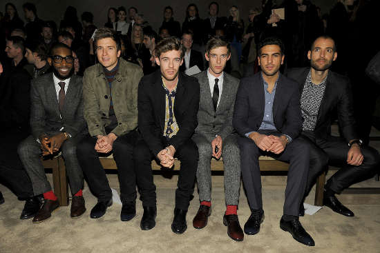 Tinie Tempah, Greg James, Harry Treadaway, Luke Treadaway, Elyas M'Barek and Alex Uhlmann