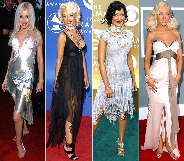 christina-aguilera-grammy-looks