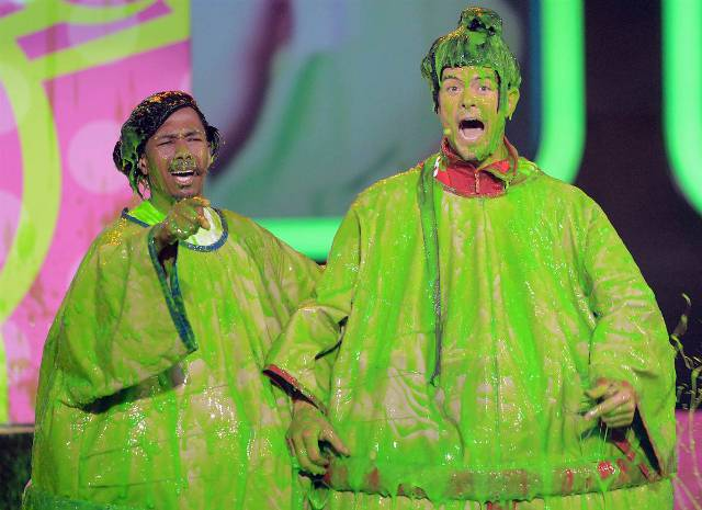 kids-choice-awards-green-mud