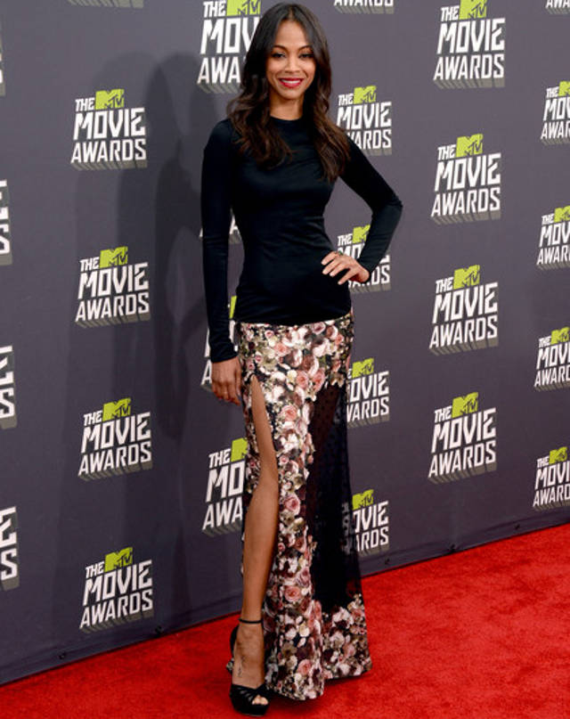 mtv-movie-awards-2013-zoe-saldana