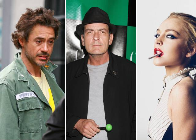 robert-downey-jr-charlie-sheen-lindsay-lohan