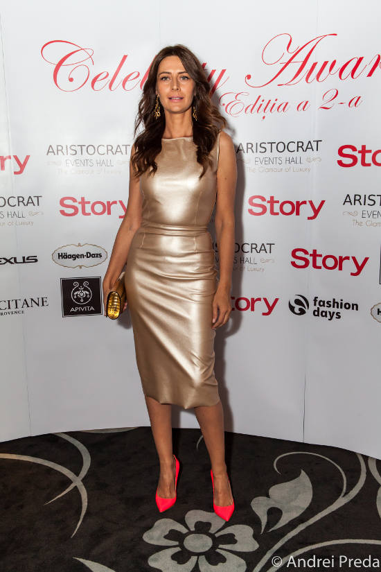 Adriana Chiper Celebrity Awards 2013