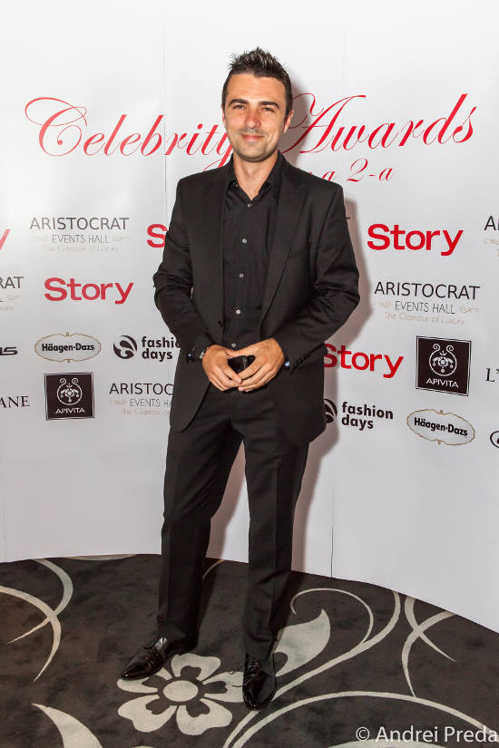 Cornel Ilie Celebrity Awards 2013