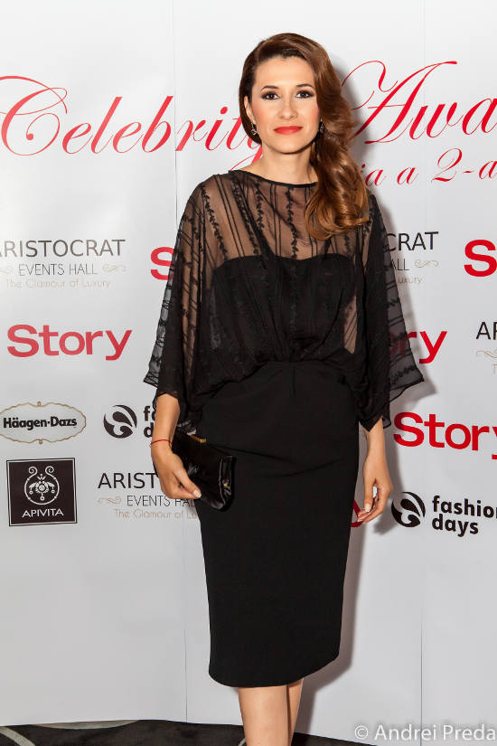 Iuliana Tudor Celebrity Awards 2013