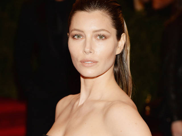 JESSICA BIEL at 2013 Met Gala in New York