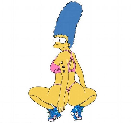 marge simspon
