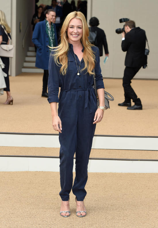 Cat Deeley at the Burberry Prorsum Womenswear Spring_Summer 2015 Show in Londo_002