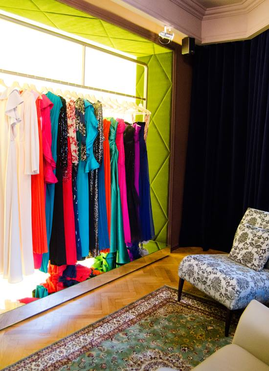 Dressbox showroom