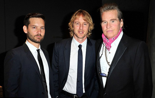 val kilmer tobey maguire