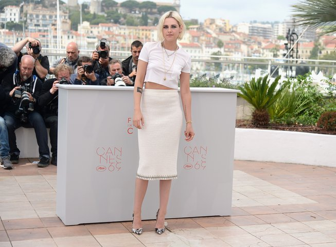Kristen Stewart in Chanel and Foundrae