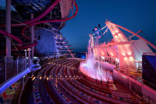 AquaTheater - Deck 6 Aft Harmony of the Seas - Royal Caribbean International