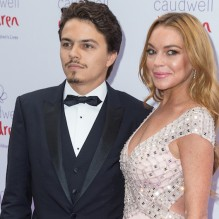 The Caudwell Children Butterfly Ball 2016 held at the Grosvenor House, Park Lane - Arrivals  Featuring: Egor Tarabasov, Lindsay Lohan Where: London, United Kingdom When: 22 Jun 2016 Credit: Mario Mitsis/WENN.com