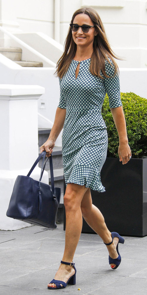 52129018 Newly engaged socialite Pippa Middleton leaves her home in London, England on July 21, 2016. The sister of Catherine, the Duchess of Cambridge, announced her engagement to boyfriend James Matthews earlier this week. FameFlynet, Inc - Beverly Hills, CA, USA - +1 (310) 505-9876 RESTRICTIONS APPLY: USA/CHINA ONLY
