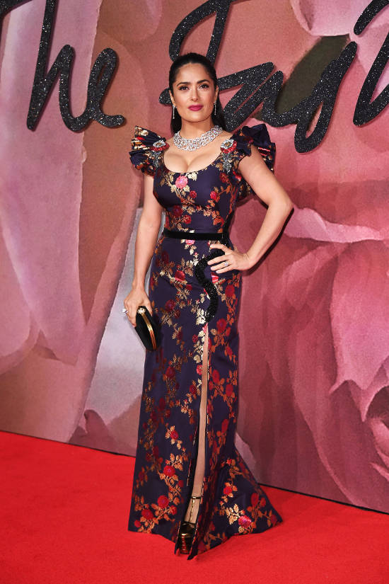salma-hayek-british-fashion-awards